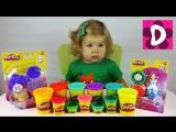 ✿ Плей До Золушка Играем Пластилином Play Doh Diana Show Play