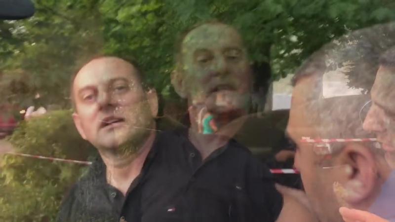 Пяний ДАІшник накинувся на поліцію і журналіста
