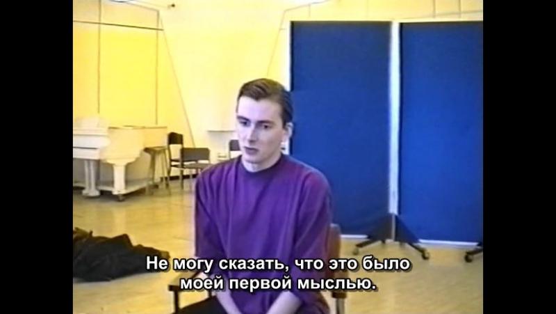 Дэвид Теннант. Кинопроба на роль Кэмпбелла(т/с Добро пожаловать в психушку!)