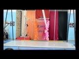 22.Греция-тренер Анна Маланина.19.03.17 г.III Отчётный концерт СШ воздушной акробатики и танца