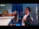 Zachary Quinto performs George Michaels Freedom! 90 (with Cindy Crawford) - Lip Sync Battle