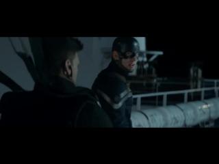"""""""Первый мститель: Другая война"""" (Captain America: Winter Soldier) - фрагмент №1"""