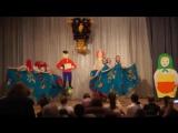 Выступление с танцем Матрешки на гала-концерте недели русского языка в ССОШ №2
