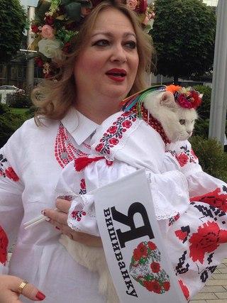 """""""Носить ее нужно не один раз в год"""": украинцы отметили День вышиванки - Цензор.НЕТ 3468"""