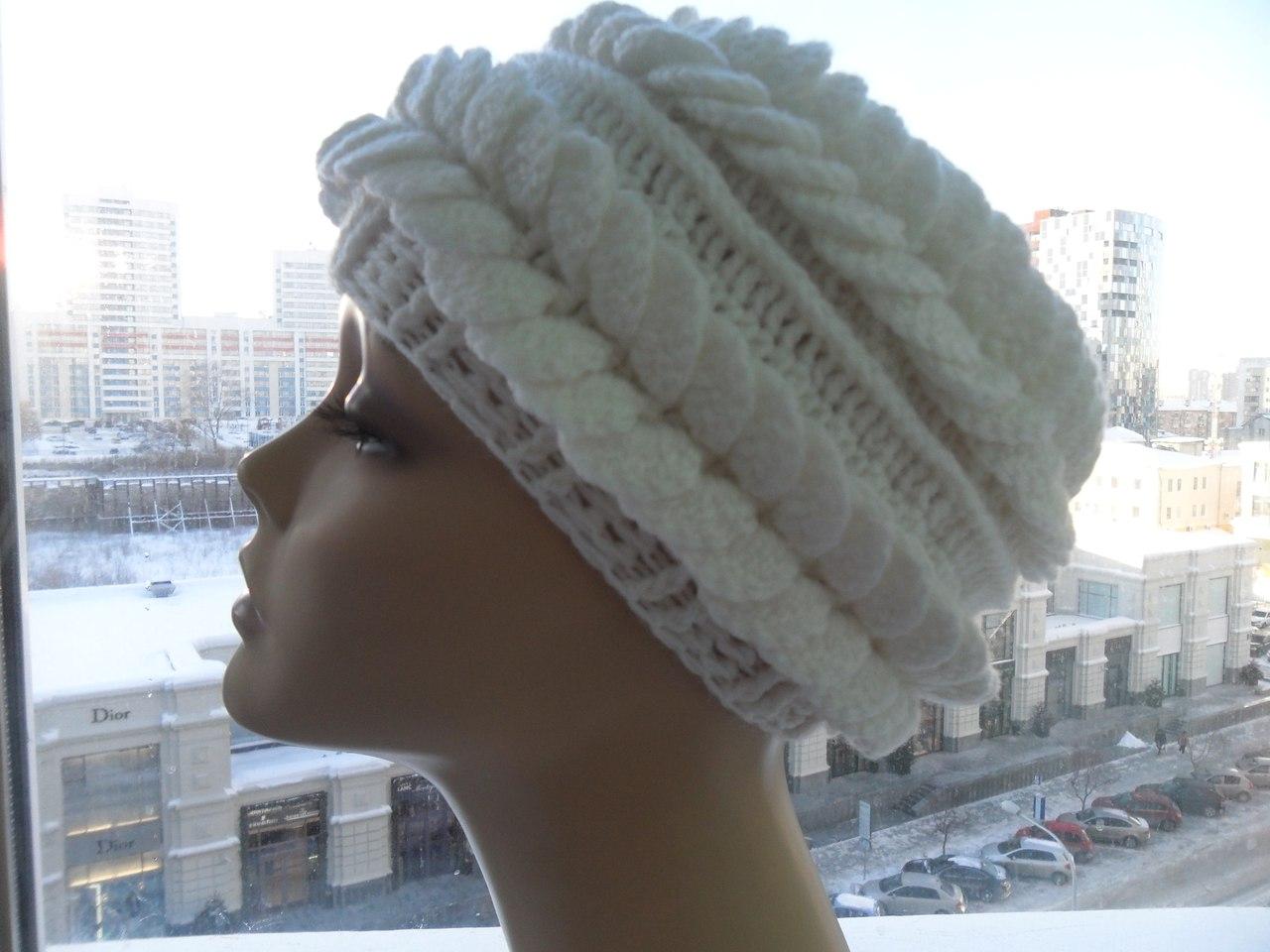 шапка берет крючком от ангелины озимок обсуждение на Liveinternet