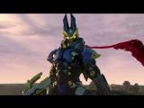 KaijuKeizer Погоня за Мегамонстрами Ультрарубеж Daikaiju Rush Ultra Frontier (2013) ep02 rus sub