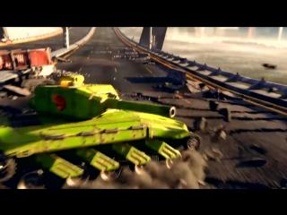 Ураганные танковые баталии
