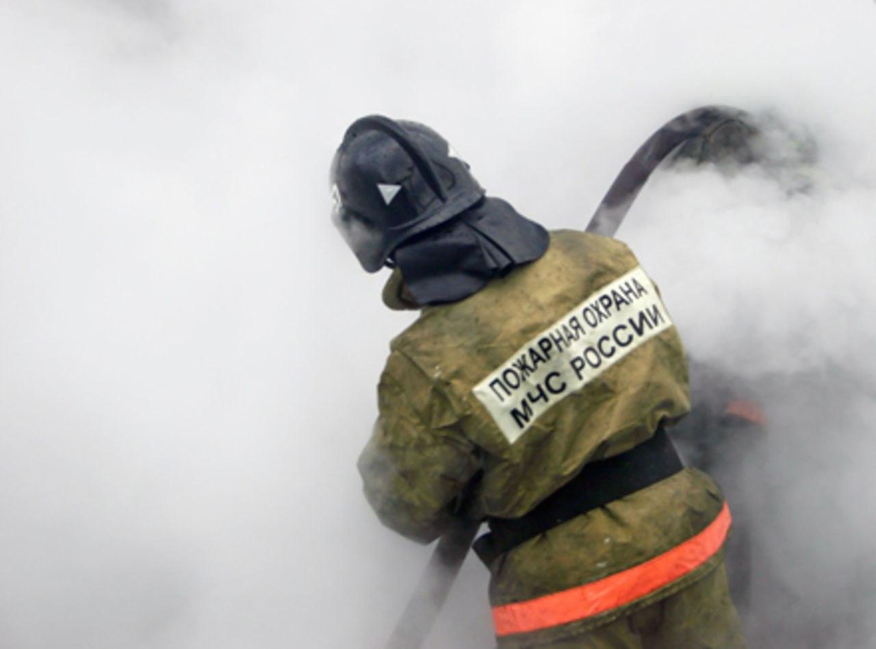 В Марухе сгорел дом