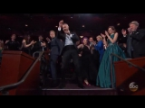 Justin Timberlake - Cant Stop The Feeling (Oscar 2017 Isabelle Huppert) HD | Изабель Юппер