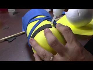 Mulher.com 01/04/16 - Minion em E.V.A. - Rosemary Ansante