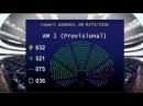 Є безвіз з ЄС 521 ЗА як голосував Європарламент