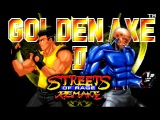 Streets of Rage Remake v5.1 (PC) - Golden Axe Trilogy mod - Walkthrough - Route 2