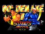 Streets of Rage Remake v5.1 (PC) - Golden Axe Trilogy mod - Walkthrough - Route 2