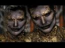 Evil Mermaid Halloween Costume Makeup Tutorial