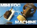 E-Cig Portable Mini Fog Machine w/ Ectoplasmic Man Mask / Jack-O-Lantern
