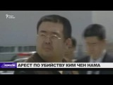 Задержана подозреваемая в убийстве Ким Чен Нама