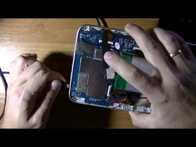 Восстанавливаем планшет (телефон) после левой прошивки (MTK платформа)