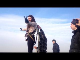 Первые прыжочки в истории Тирасполя