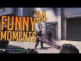 CSGO - Funny Moments #34 w Mojo, Azzy, Tweeday &amp Cha!