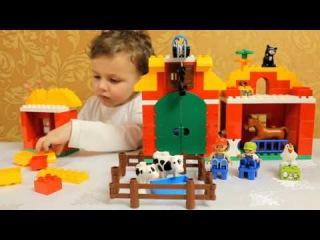 Большая Ферма Лего Дупло10525 LEGO Duplo 10525 Big Farm set review!