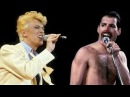 David Bowie Freddie Mercury