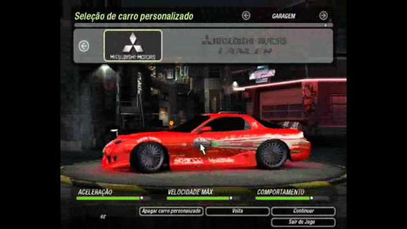 Need For Speed™ Underground 2 - Carros MOD
