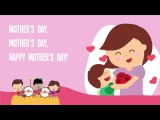 Happy Mother's Day  Kids Song  Song Lyrics Video  The Kiboomers