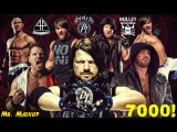 WWE Multi Mashup AJ Styles Tribute (7000 Subscribers Special)