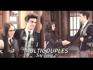 Multicouples Soy luna 2   Some Kind Of Beautiful