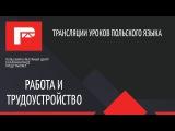 Урок польского языка (работа и трудоустройство)
