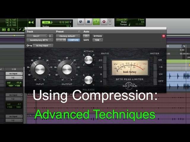Using Compression Advanced Techniques - Warren Huart Produce Like A Pro