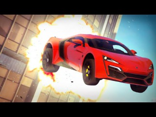 GTA 5 - FAST & FURIOUS 7 - Skyscraper Jump Scene