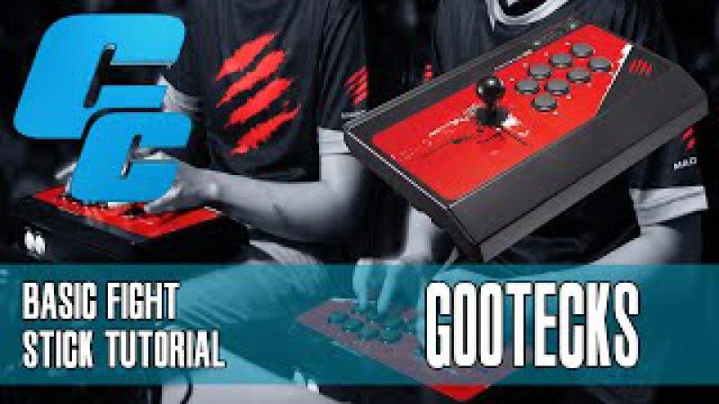 The Basics of Using a Fight Stick Tutorial w/gootecks (@gootecks) - Ultra Street Fighter 4