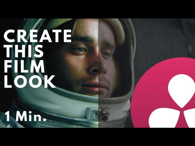 DaVinci Resolve 12.5 - How to create popular film look tutorial