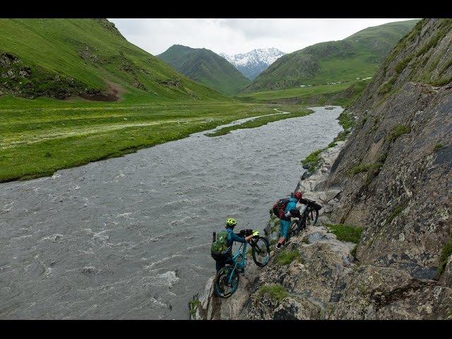 The Most Dangerous road mountin biking. Caucasus mountians-Tusheti. ველო ტური თუშეთში.