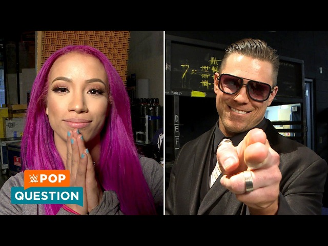 SBMKV Video What surprise Rumble entrants do WWE Superstars want to see WWE Pop Question
