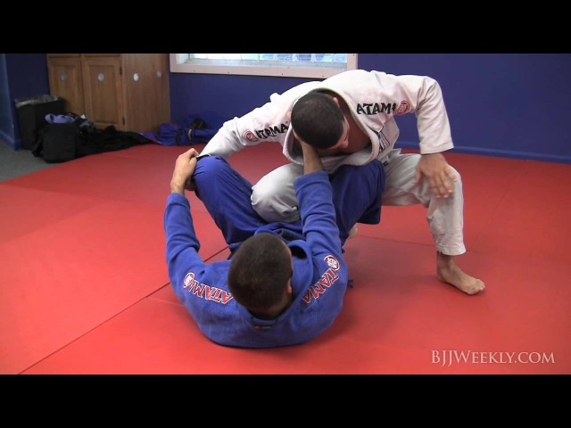 Augusto 'Tanquinho' Mendes - Ankle Pick Takedown with Guard Pass - BJJ Weekly 057
