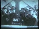 Момент освобождения Советскими солдатами пленников в концлагере Аушвиц-Биркенау