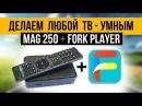 MAG250 и ForkPlayer - Делаем любой телевизор УМНЫМ
