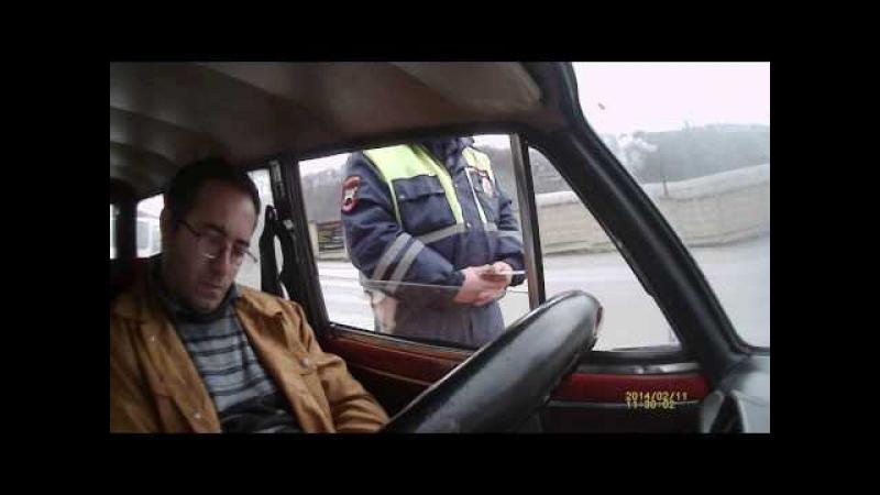 ДПС Туапсе. Временный пост полиции Мессажай. Идпс Сковороднев пресек опасное правонарушение.
