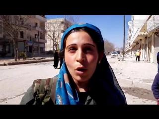 Женский курдский отряд