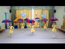 видео танец с зонтиками