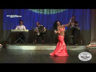 Karolina Yakumaite 1 place. Ethno Dance Festival 2014. Abdel Halim Hafez – Sawah