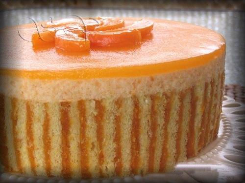 Абрикосовые торты с фото