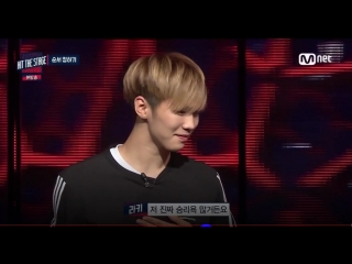 160831 Hit the stage Ep 6 - Ten, Bora, Rocky, Hyunseung mission cut