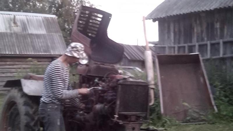 Заводим ДТ-20