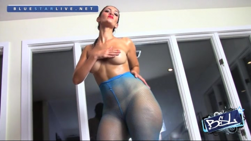 Rosee Divine in blue pantyhose and oiled HD french big ass booty butts tits boobs bbw pawg curvy chubby wide