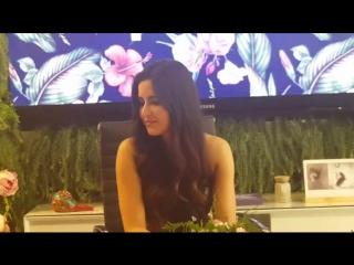 170223 Bollywood actress Katrina Kaif speaks to Khaleej Times.