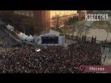 Прямая трансляция акции памяти жертв теракта в метро Санкт-Петербурга «Питер, мы с тобой!»