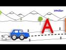 Учим алфавит, Развивающий мультик для самых маленьких детей 1
